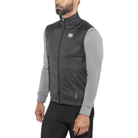 X-Bionic Spherewind Pro Running Vest Herren black/white